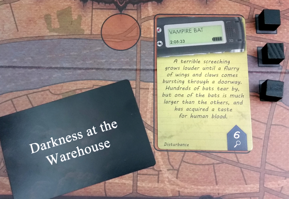 The Warehouse has been Engulfed, moving players one step closer to losing