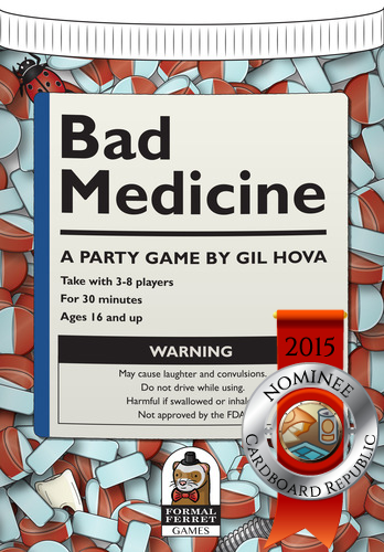 Bad Medicine nominee cover