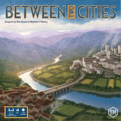 between two cities cover