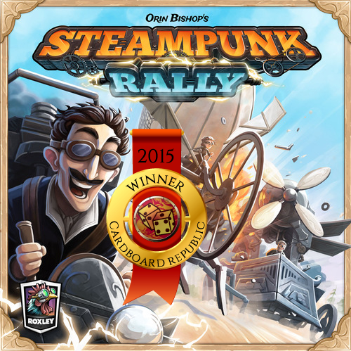 steampunk rally winner