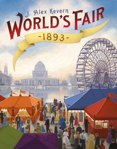 World's Fair 1893 indie cover