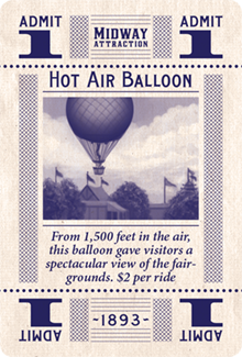 1893 hot air balloon