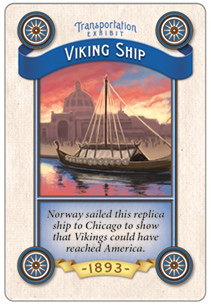 1893 viking ship