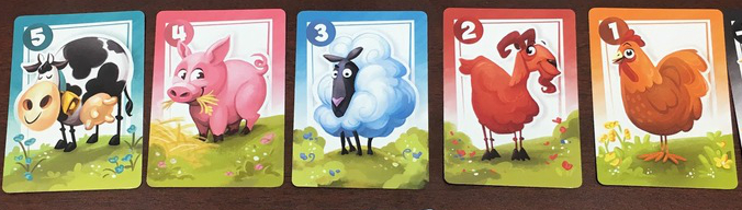 Not every card is weighted equally. Choose your targets carefully. Prototype Shown