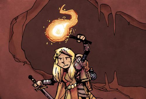 vast knight torch