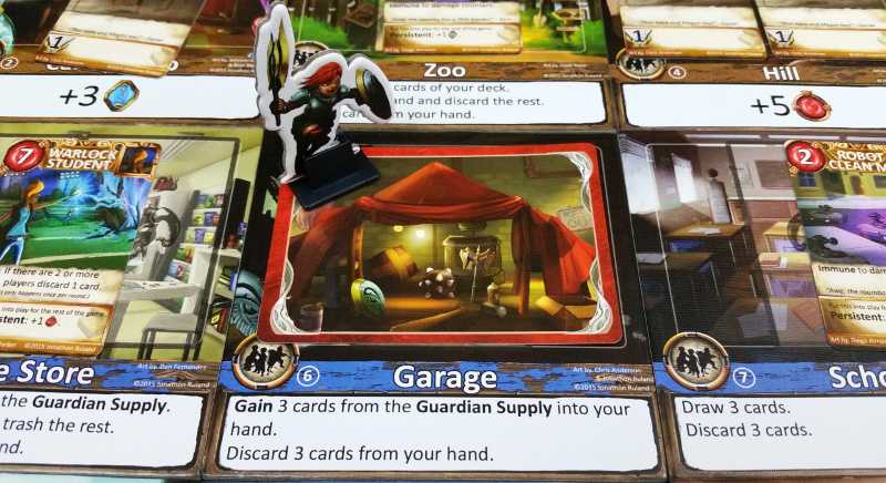 The Garage is a great place to tune up your deck...fitting really