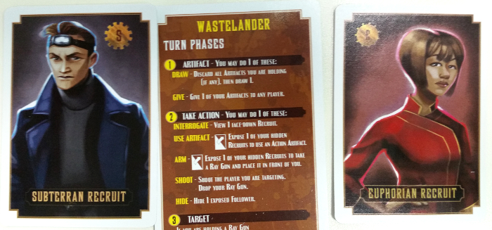 Wastelanders care not for your foolish squabbles. But they will end it. Prototype Shown