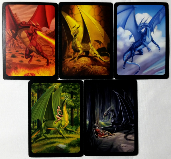 The five primary dragons of Seven Dragons