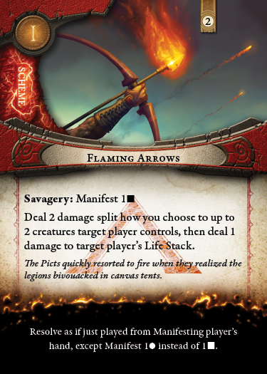 Who doesn't love surprise flaming arrows Prototype Shown