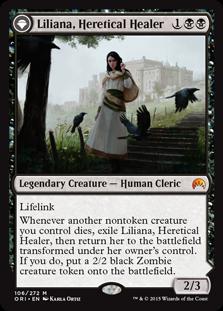 liliana healer