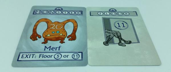 Having reached Floor 11, Merf will exit the elevator. Prototype Shown
