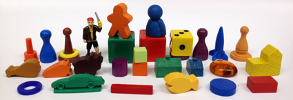 In every pile of game pieces there's a game just waiting to be made