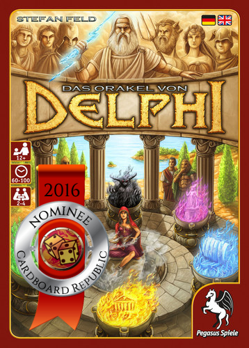 The Oracle Of Delphi nominee