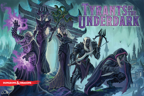 tyrants of the underdark cover