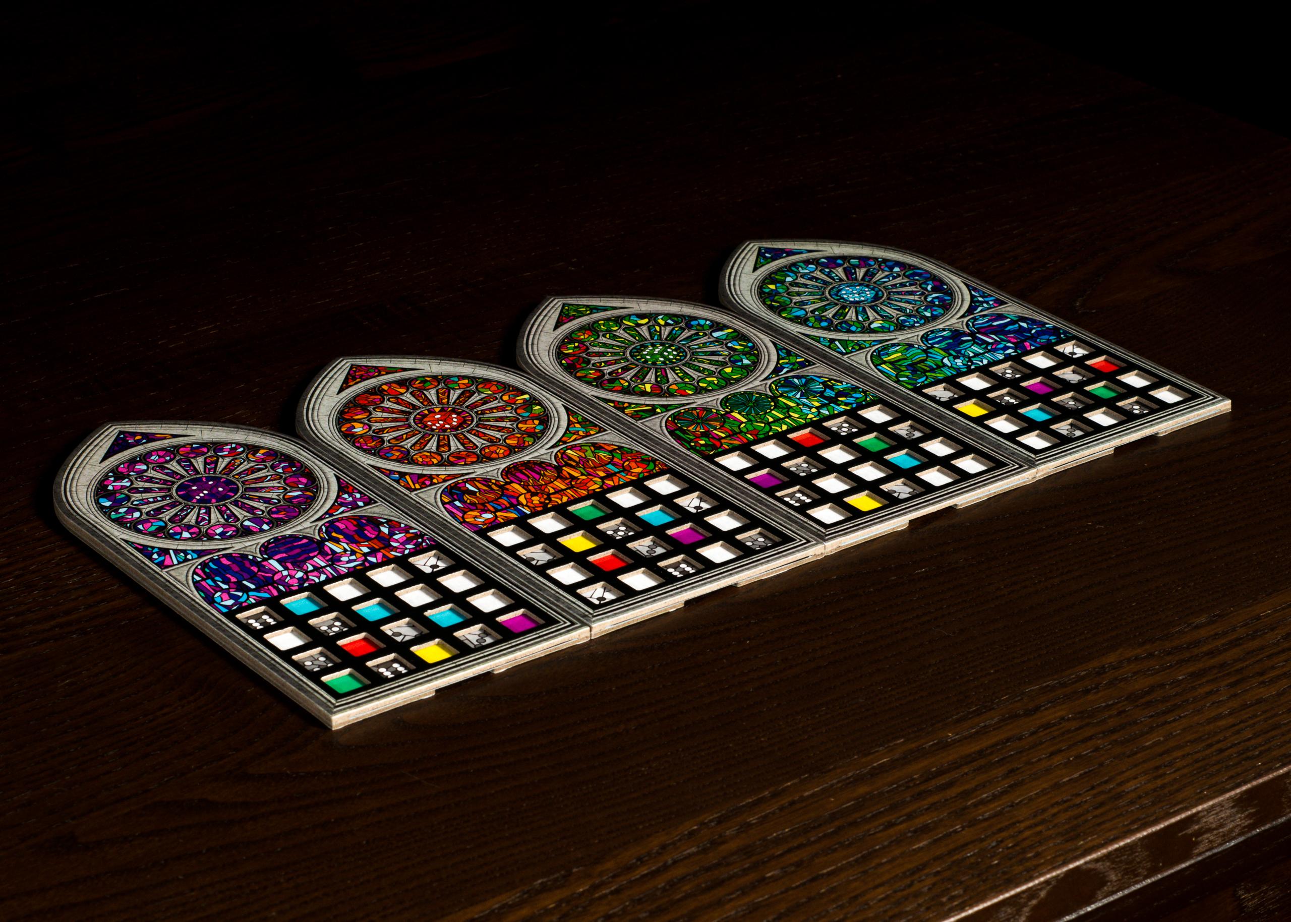 Sagrada - Player Boards 1