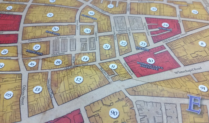 Scouring East London to catch Jack the Ripper