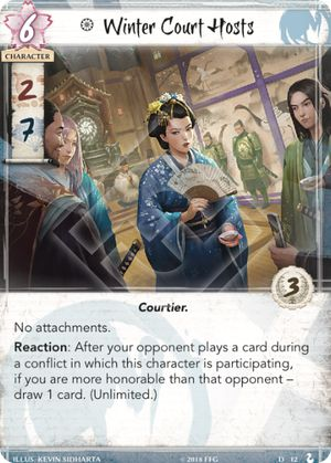 Legend of the Five Rings Winter Court 2018 World Championship Deck